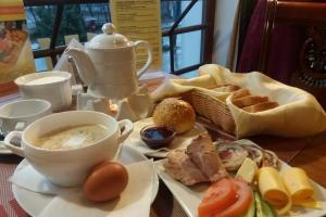 Отель Пруссия, завтрак